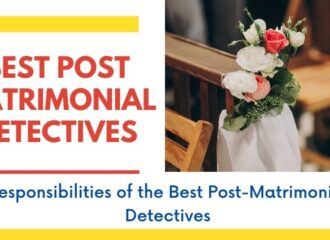 Post-Matrimonial Detectives